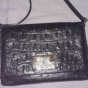Kate Spade Croc Embossed Crossbody Bag